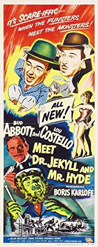 Movie Posters Abbott & Costello Meet Dr Jekyll & Mr Hyde - 27 x 40