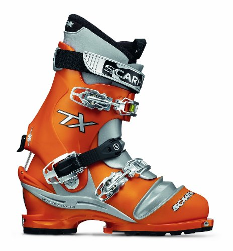 Scarpa men 39 s terminator x telemark boot orange 26 m mondo for Mondo scarpa catalogo