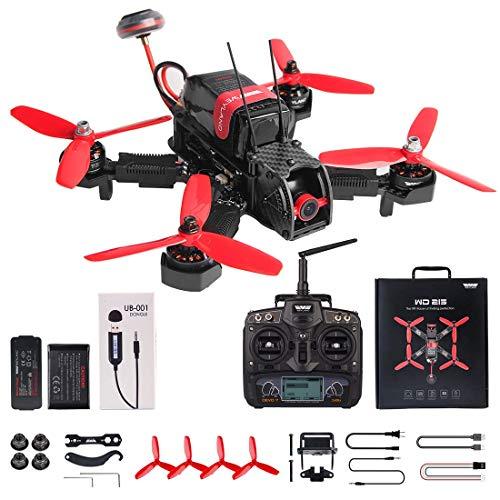 Weyland Quadcopter Drone with FPV HD Camera Devo 7 Remote Control&F3 Fight Control&Live Video Transmitter WD215