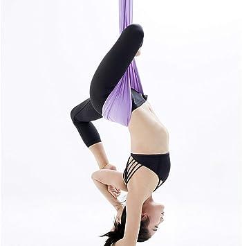 Amazon.com: Canyixiu-sport Aerial Yoga Hammock Yoga Center ...