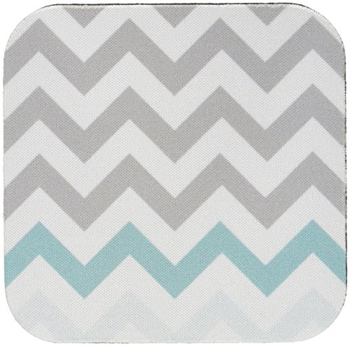 3dRose cst 179811 2 Turquoise Pattern Soft Coasters