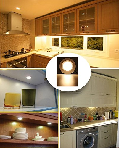 Modern 12v Kitchen Led Under Cabinet Lights Tubes 50cm: Xking K0631 Dimmable Pack Set Of 6 LED Under Cabinet
