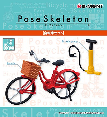 Pose Skeleton Accessories Bicycle Set