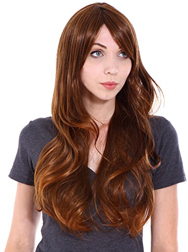 Simplicity Women Long Wavy Cosplay Costume Party Wigs