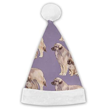 ca79a76ffe048 Amazon.com  Leonberger Mother and Puppy Christmas Santa Hat
