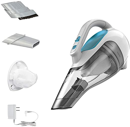 cordless hand held vacuum with attachments