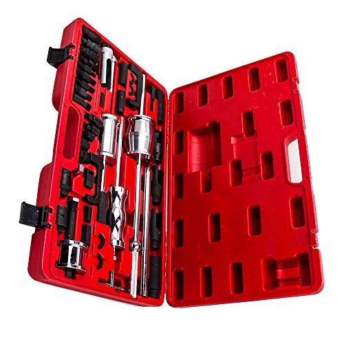 maXpeedingrods 40 Pieces Truck Diesel Injector Extractor Slide Hammer Puller Extractor Complete Set,Universal MASTER Kit by maXpeedingrods (Image #4)