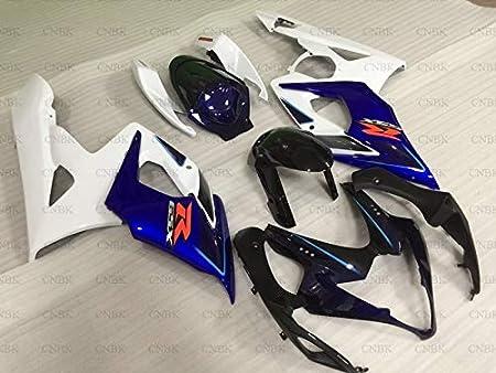 Fairing Kits for GSXR1000 2005-2006 K5 Abs Fairing GSXR 1000 2006 Black Silver Body Kits for GSXR1000 06