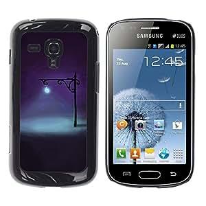 Be Good Phone Accessory // Dura Cáscara cubierta Protectora Caso Carcasa Funda de Protección para Samsung Galaxy S Duos S7562 // Lamp Bright Light Night Deep Dark