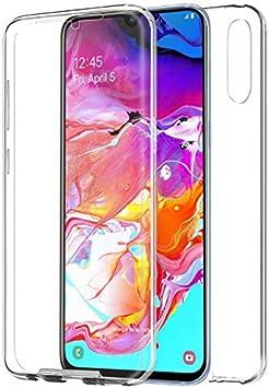 Mb Accesorios Samsung Galaxy A70 Funda DE Silicona Delantera + ...