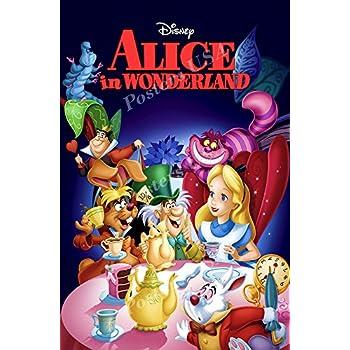 Amazon Com Alice In Wonderland Classic Walt Disney