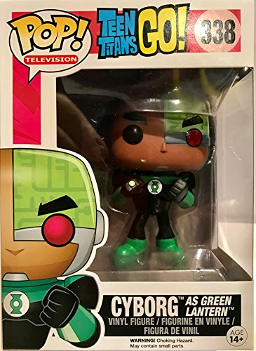 POP! Television: Teen Titans GO: Cyborg as Green Lantern TRU Exclusive … (Costume Role Playset)