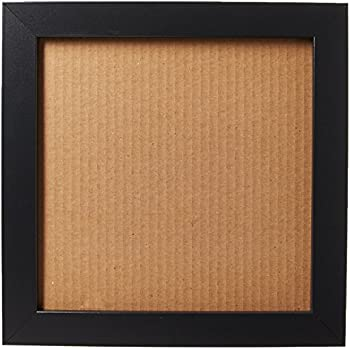 Amazon Com One 10x10 Square Black Wood Picture Frame And