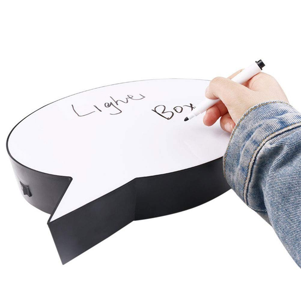 Uscyo LED Handwriting Light Box, Drawing Box, LED Screen Writing Message Board for Interior Decoration, Mood Lighting, Night Light, Party and Home Decoration by Uscyo (Image #5)