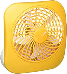 O2COOL 5-Inch Portable Desktop Air Circu...