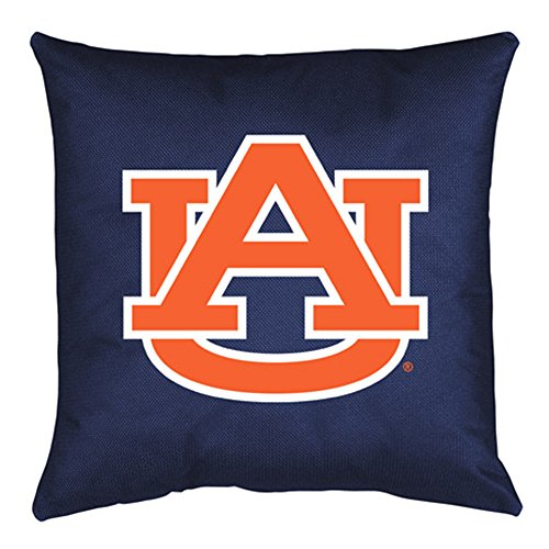 Auburn Tigers Throw Pillow - Sports Coverage NCAA Auburn Tigers Locker Room Pillow