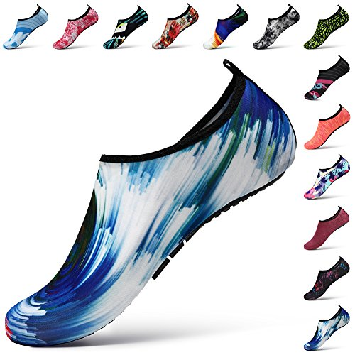 STEELEMENT. Water Yoga Shoes for Men Women Sports Socks Surfinf Shoes Stockings Hiking Climbing Swimming Athletic (XXL:(US Size:Women:13-14,Men:10.5-11), WS37-44)