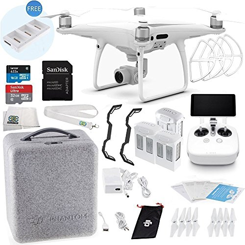 DJI Phantom 4 PRO+ Plus Quadcopter Ultimate Bundle
