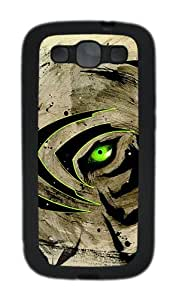 Samsung Galaxy S3 I9300 Cases & Covers Creative Green Eyes Custom TPU Soft Case Cover Protector for Samsung Galaxy S3 I9300 Black