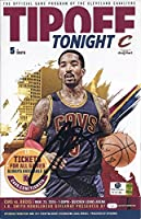 AUTOGRAPHED 2015 J.R. Smith #5 Cleveland Cavaliers Basketball TIPOFF TONIGHT GAME PROGRAM (Official Program of the Cavs) 6X9 Inch Signed Rare Collectible Game Guide with COA & Hologram