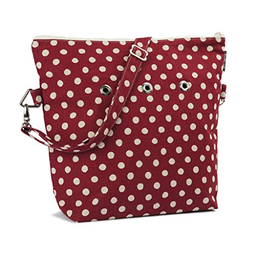 Yarn Pop Totable Knitting Bag - Redberry by Yarn Pop