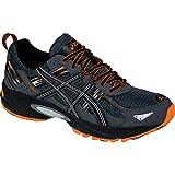 ASICS Men's GEL Venture 5 Running Shoe, Carbon/Black/Hot Orange, 10 M US