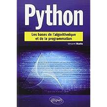 Python: les Bases de Algorithmique et de la Programmation