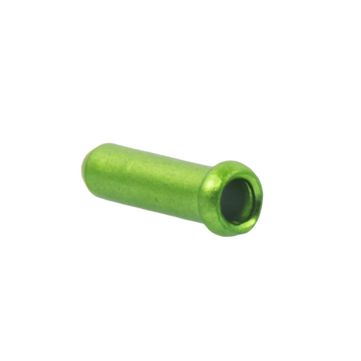 Chooee100pcs Tapa De Freno De Bicicleta De Monta/ña Desviador Palanca Cambios Cable Tapas De Extremo Engarzado Cable End Crimpea Oro//Rojo//Azul//Verde//Nergo//Naranja