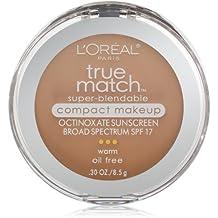 L'Oréal Paris True Match Super-Blendable Compact Makeup, W4 Natural Beige,...