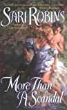 Front cover for the book More Than a Scandal by Sari Robins