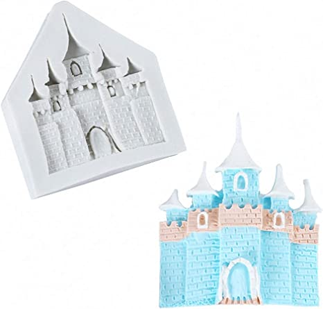 Castle  Mould church wedding moldCake Decor  Chocolate Fondant Candy baking Tools