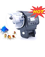 Lychee Aquarium Fish Feeder Vacation Aquarium Automatic Fish Food Dispenser Tank Feeder Timer Auto Feeders for Holiday Vacation Fish Dispenser (AF-2009D)