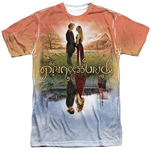 Princess Bride Romantic Movie Poster Adult 2-Sided Print T-Shirt Medium