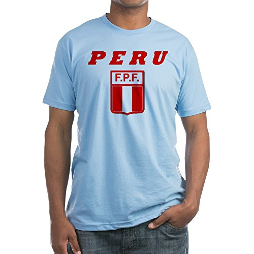 fan products of CafePress - Peru Copa America T-Shirt - Fitted T-Shirt, Vintage Fit Soft Cotton Tee