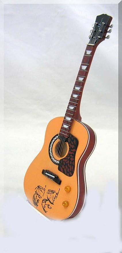 JOHN LENNON - Guitarra en miniatura, diseño de Beatles Imagine ...
