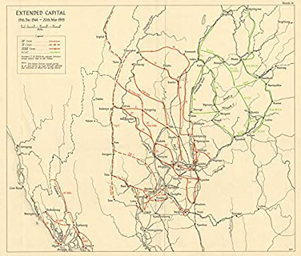 Amazon com: Operation Extended Capital Dec 1944-March 1945  Burma