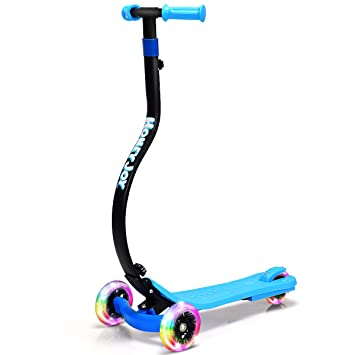 Amazon.com: HONEY JOY - Patinete infantil plegable con 3 ...