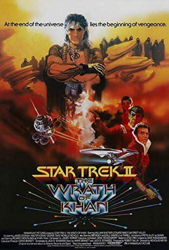 THE WRATH OF KHAN Movie POSTER 11x14 E Leonard Nemoy STAR TREK 2