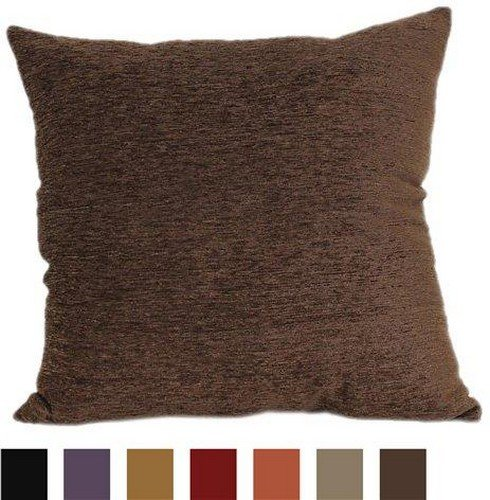 24-Inch Chocolate Cushion