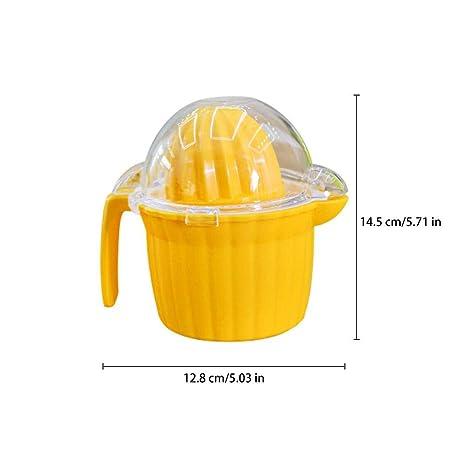 WangWtry Manual Exprimidor de Limón Doble Cabeza Naranja Manual Premium Limón Exprimidor de Mano Exprimidor de