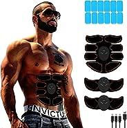 Abs Stimulator - Abdominal Toner- Belt Body Workout Training Gear Fitness Equipment - Fitness Gear for Men Wom