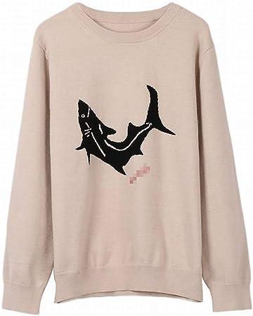 TYERY Camisa del Suéter de la Manga Larga del Jersey del ...