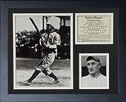 Legends Never Die Honus Wagner Framed Photo Collage, 11 x 14-Inch