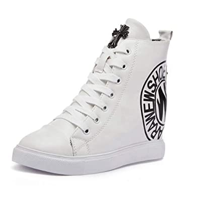 1cdf76ccaee7d Amazon.com | Zarbrina Womens Wedges Platform Sneakers Causal ...