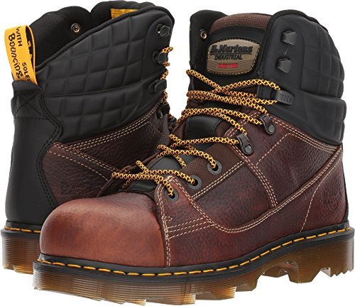 affordable Dr. Martens Camber Alloy Toe Teak Industrial Bear/Black Soft Rubbery UK 7 (US Men's 8, US Women's 9)