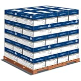 Hammermill Paper, Great White Copy,100% Recycled, 20lb., 8.5 x 11, Letter, 92 Bright 5000 Sheets per Carton - 40 Cartons per Pallet - Pallet Pricing, 200,000 Sheets (86790PLT), Made In The USA