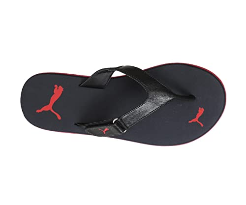 e91f09c74 Puma Men s Black and Red PU Thong Sandals - 6  Buy Online at Low ...