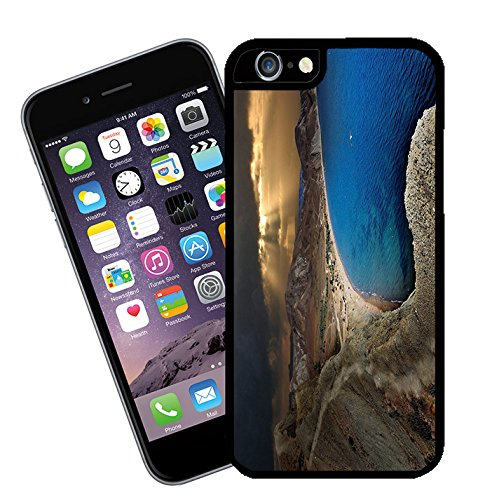 005 Housse Motif Paysage, ce modèle de housse pour Apple iPhone 6 plus (Pas de 6)-By Eclipse idées cadeaux