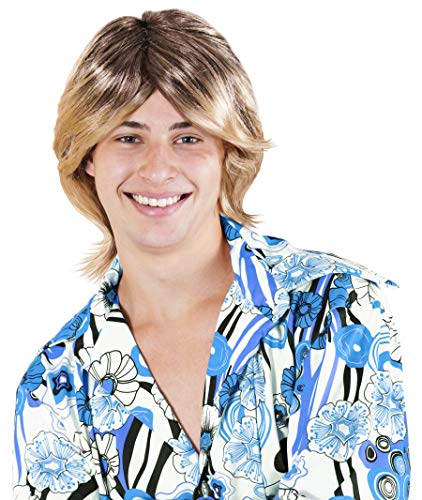 Kangaroo Halloween Accessories - Ladies Man Wig, Blonde -