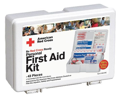 First Aid Kit  Kit  Plastic Case Material  General Purpose  10 People Served Per Kit   1 Each